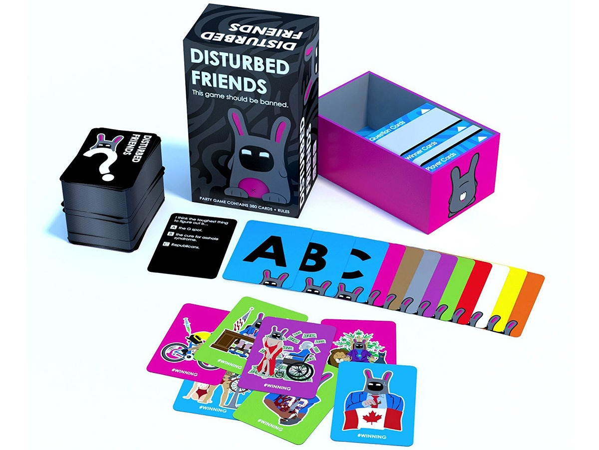 Disturbed Friends: This Card Game Should Be Banned