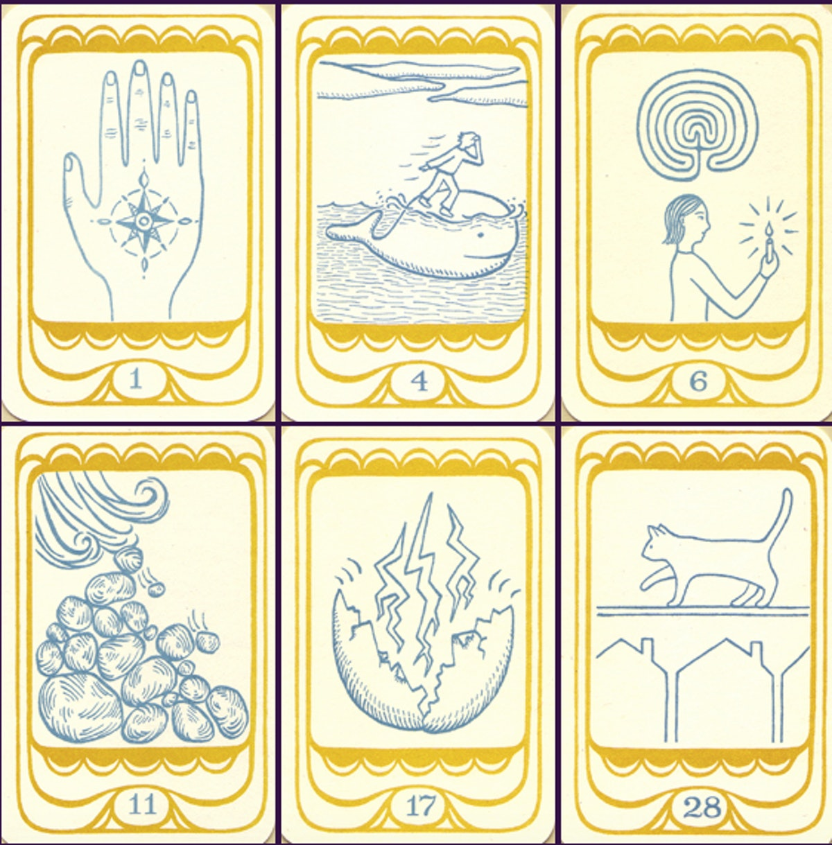 Golden Moth Oracle Deck And Handbook