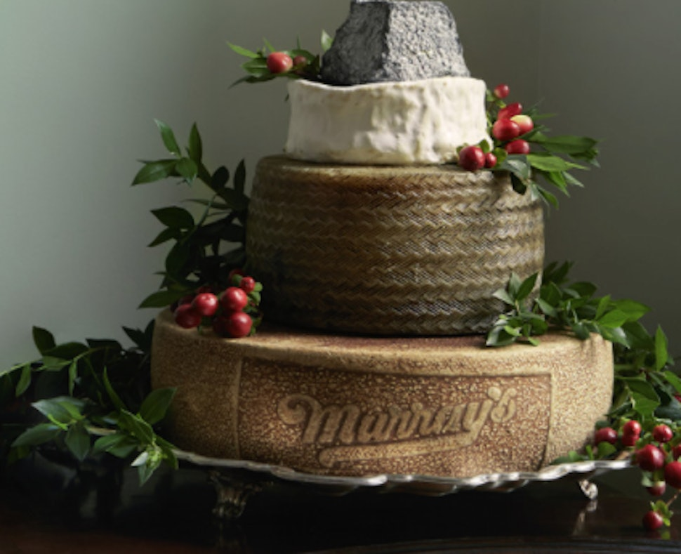 These Wedding Cakes Made Of Cheese May Be The Most Beautiful Thing