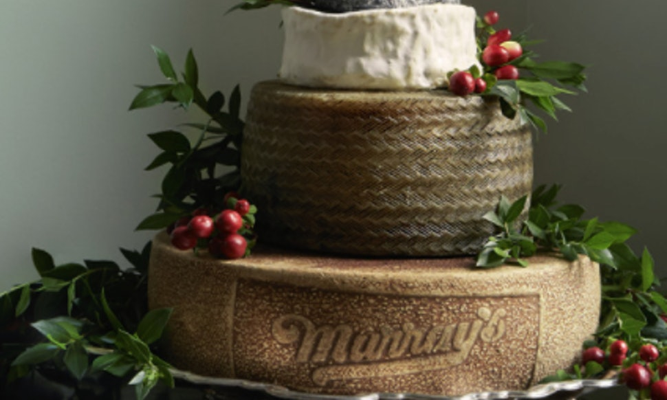 These Wedding Cakes Made Of Cheese May Be The Most Beautiful Thing You Feast Your Eyes On