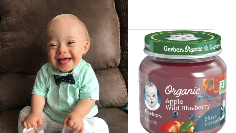 01d2b8d6fb39 The Gerber Spokesbaby 2018 Is The First Baby With Down Syndrome In The  Contest s History