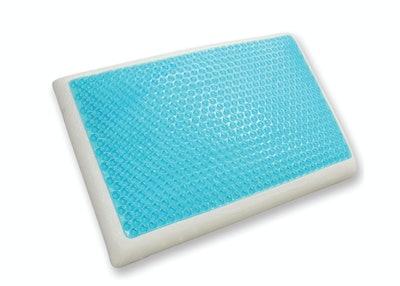 Classic Brands Reversible Cooling Gel and Memory Foam Pillow