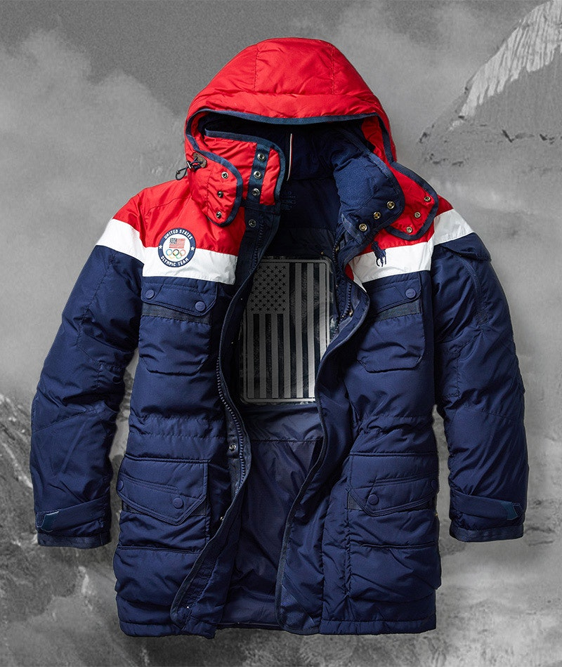 26a4f86817a3 Where To Buy Team USA Olympic Opening Ceremony Outfits   Coats With  Built-In Heaters