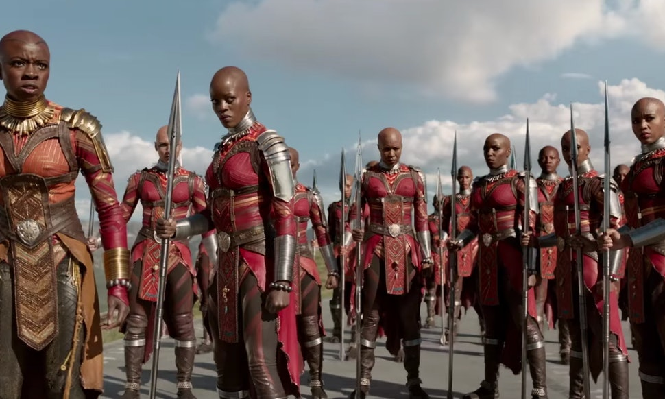 What Does Dora Milaje Mean The Elite Black Panther Fighters Have