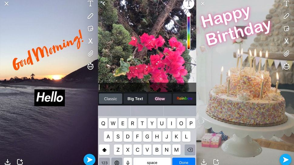 how to get more text on snapchat