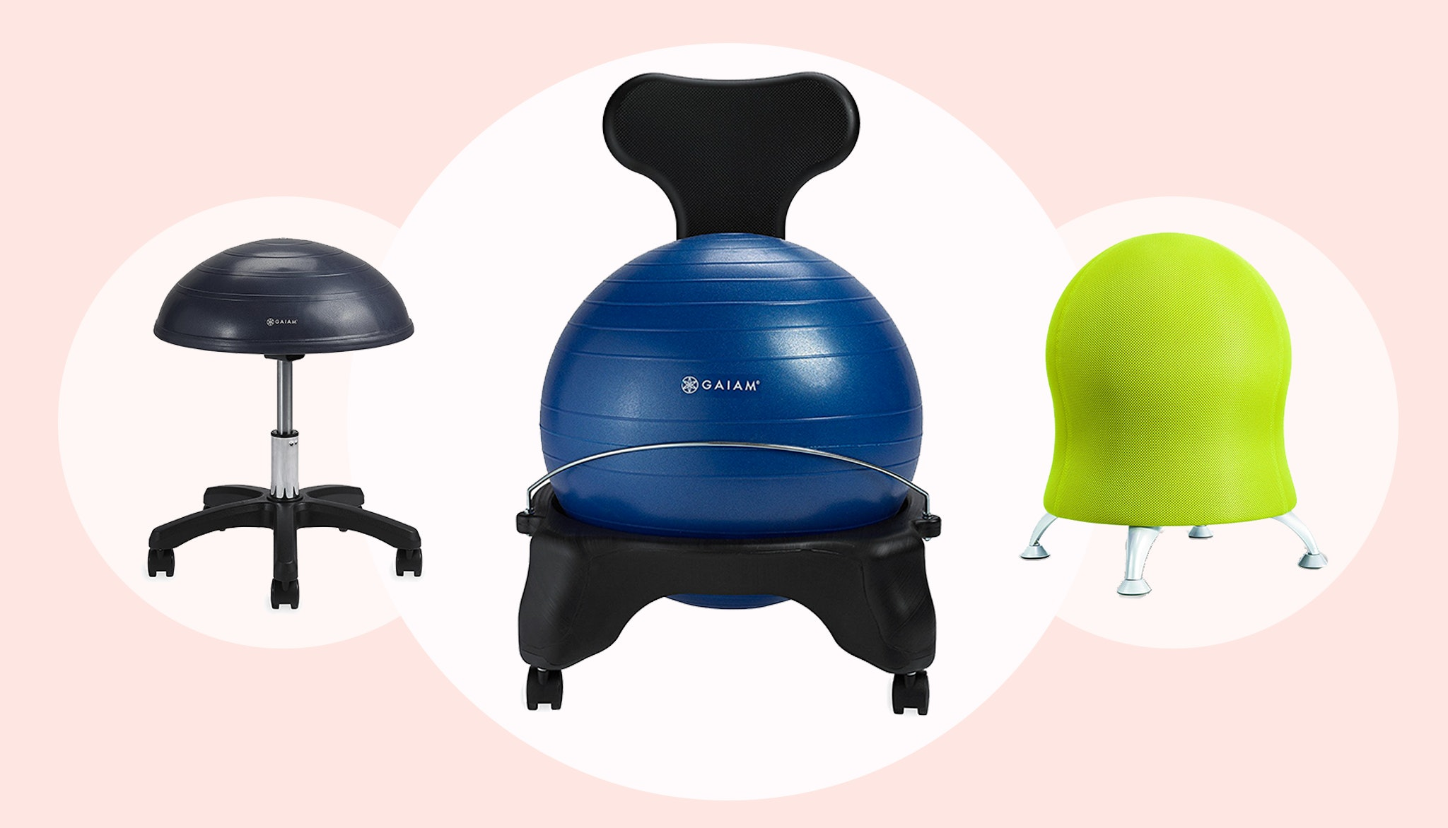 Terrific The 5 Best Balance Ball Chairs For The Office Home Interior And Landscaping Ponolsignezvosmurscom