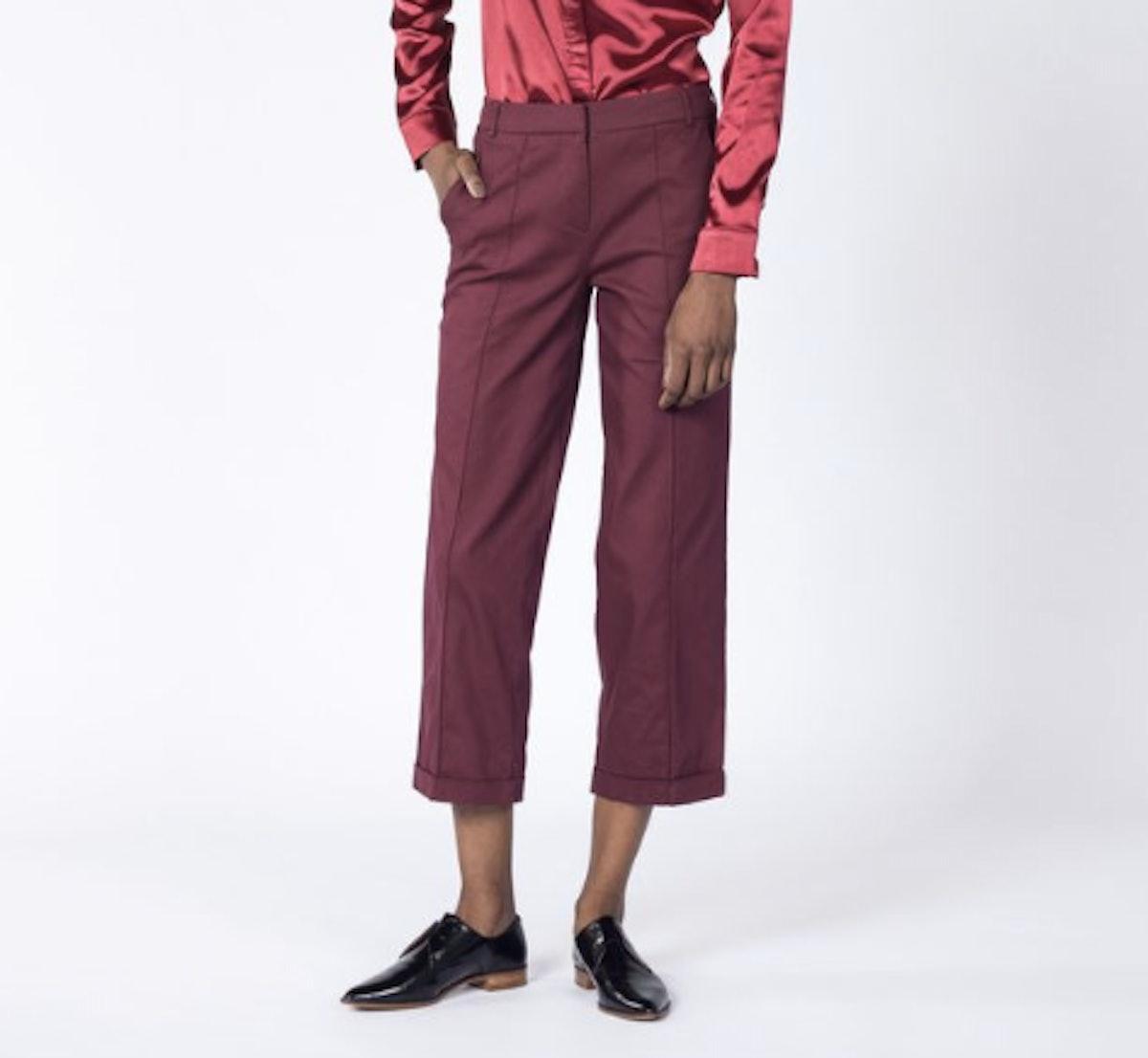 The Boyega Wide Leg Trouser