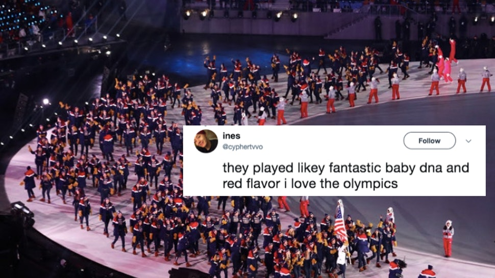 The Songs From The 2018 Opening Ceremony Parade Of Nations
