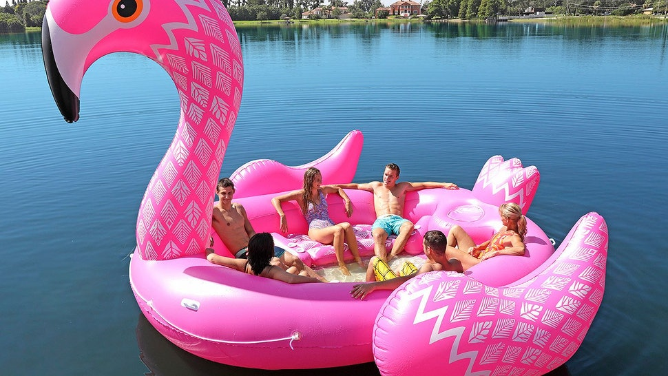 Where To Buy Party Bird Island Pool Floats So You Can