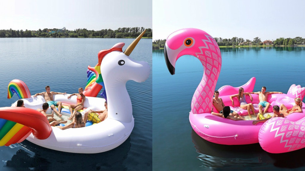 Sam S Club Party Bird Island Pool Floats Make It So Easy To Enjoy Summer With Your Bffs
