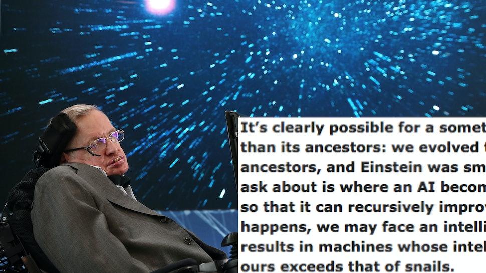 Stephen Hawking's Last Reddit AMA Focused On What The