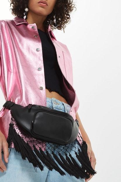 Leather Loveheart Cross Body Bag