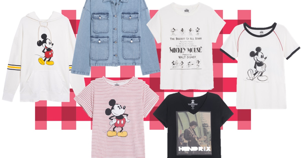Disney & MKT's Mickey Mouse 90 Anniversary Clothing Line Has A Vintage Feel You Will Love