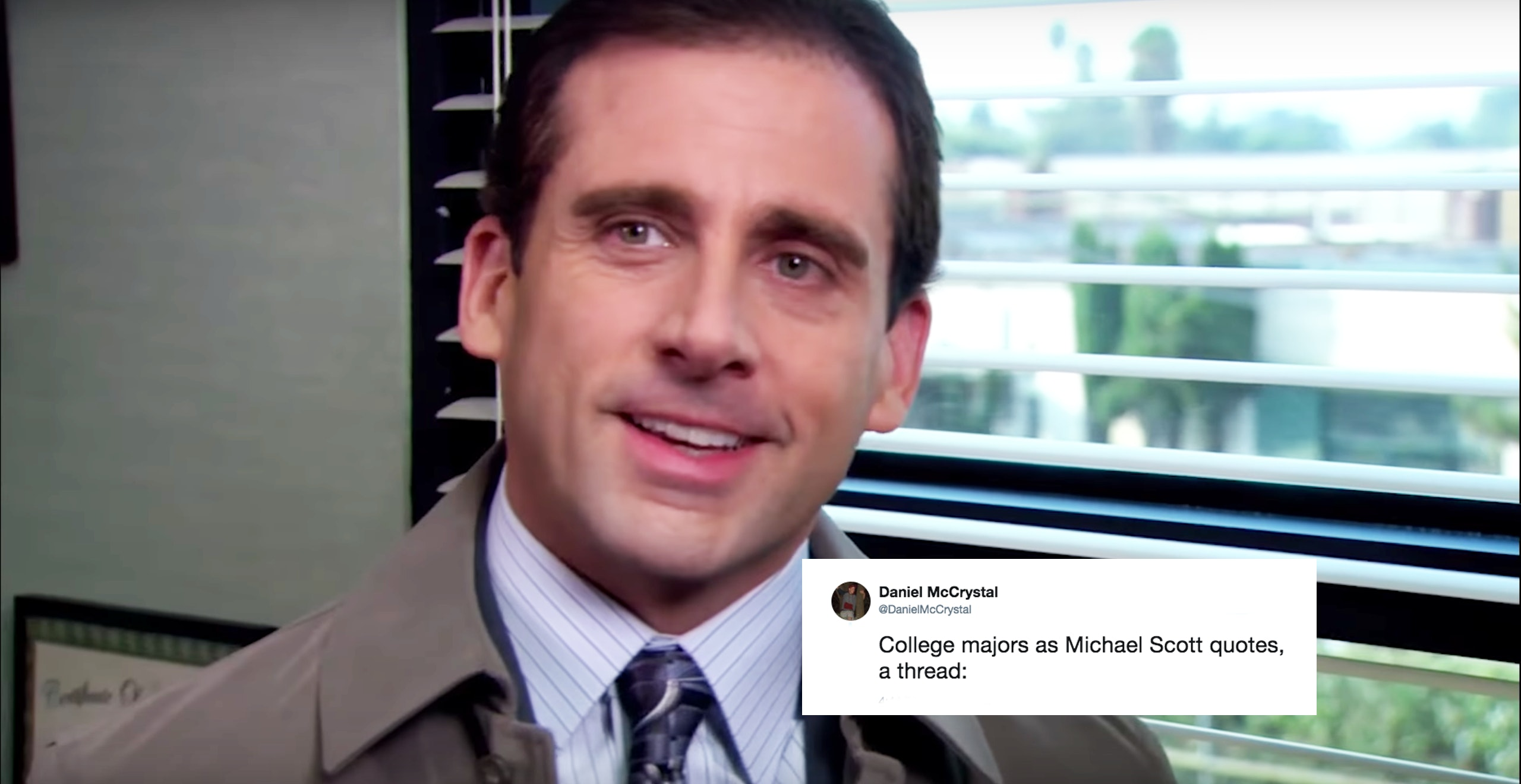 The Office Quotes | College Majors As Michael Scott Quotes Is The Office Viral Thread