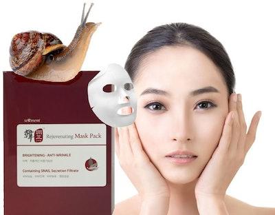 Serment Korean Cosmetics Rejuvenating Snail Mask