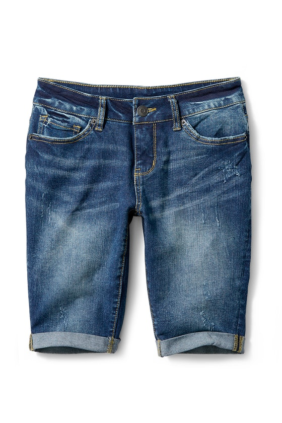 Time and Tru Denim Bermuda Shorts