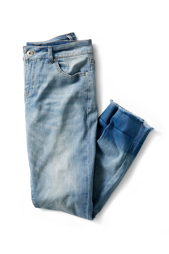 Time and Tru Released Hem Skinny Jeans