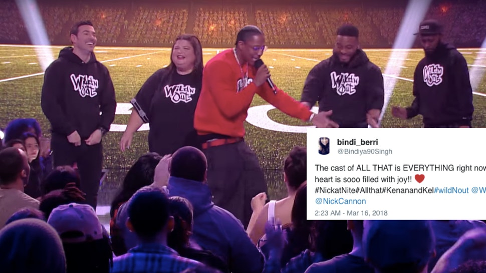 Video Of The 'All That' Reunion On Nick Cannon's 'Wild 'N
