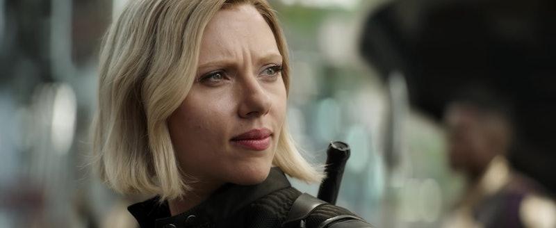 Why Black Widow Is Blonde In Avengers Infinity War According To Scarlett Johansson Herself