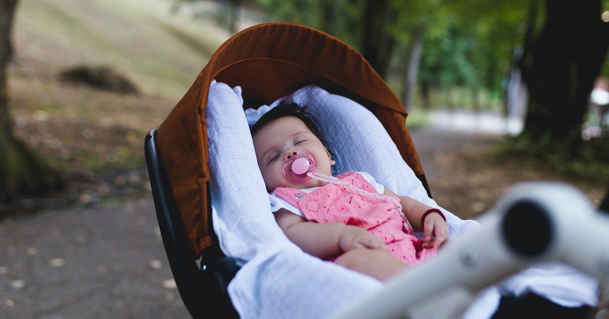 Why Your Baby Loves Sleeping In A Stroller According To
