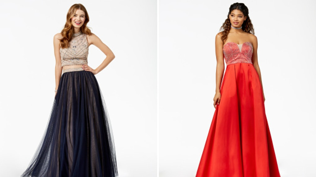 ca28856e22fef 'Say Yes To The Prom' Dresses Are Here So You Can Get The Red Carpet  Treatment