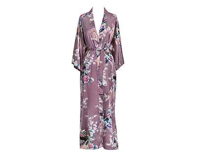 Old Shanghai Kimono Long Robe