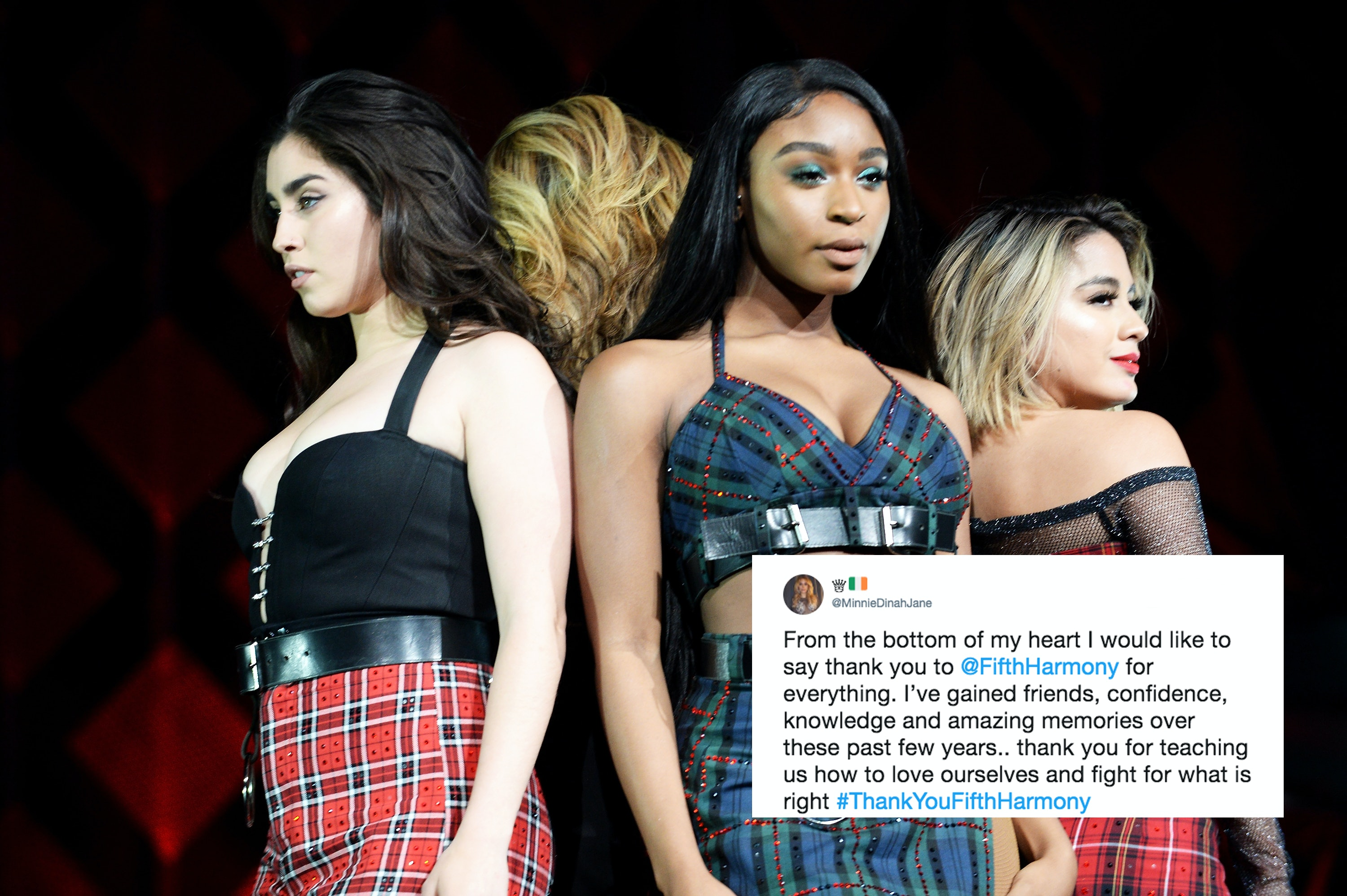 Fifth Harmony's Break Up Announcement Has Fans Thanking The Band For
