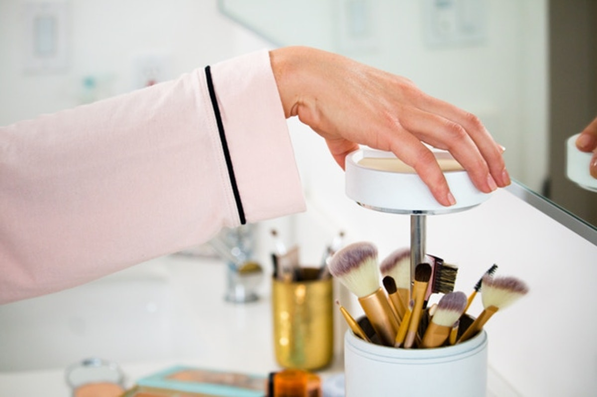 Brushean's Electric Makeup Brush Sanitizer Could Be The Secret To Clearer Skin