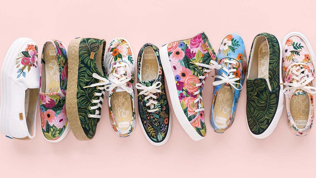 2a5221f2992 Where To Buy Keds x Rifle Paper Co. Sneakers Because