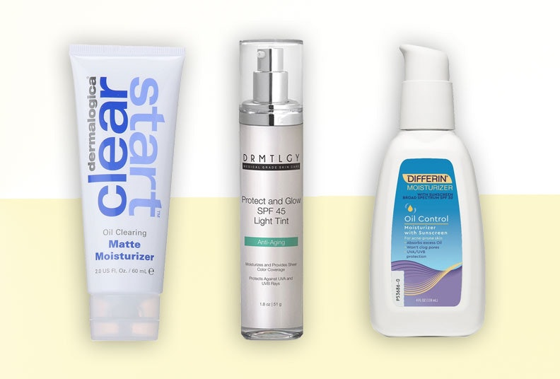 moisturizer with spf for oily skin