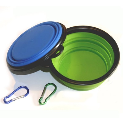 Comsun 2-Pack Collapsable Dog Bowl