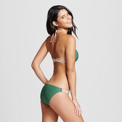 Strappy Back Bralette Bikini Top