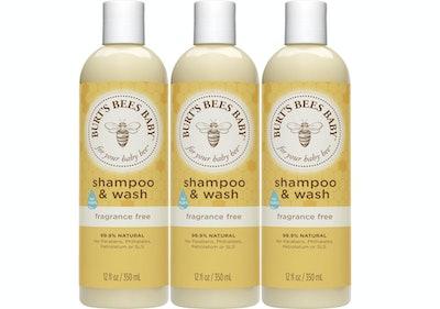 Burt's Bees Baby Bee Fragrance-Free Shampoo and Wash