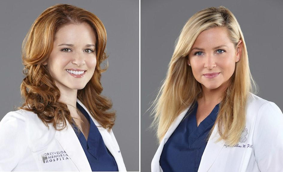 Grey\'s Anatomy\' Fans\' Tribute To Sarah Drew & Jessica Capshaw Will ...