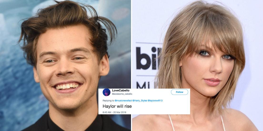 Når gjorde Taylor Swift Start Dating Harry stiler