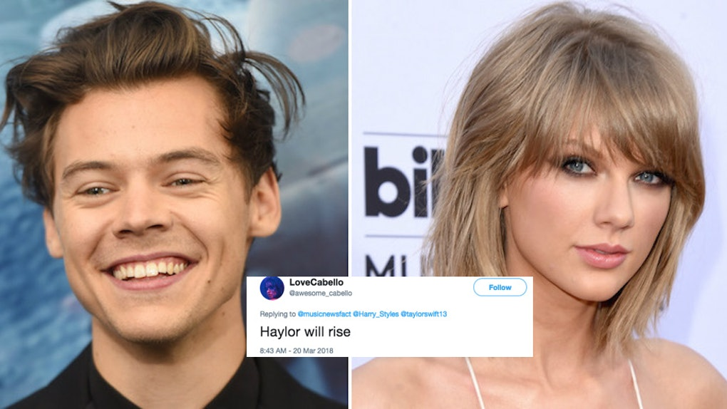 Harry Styles Joke About Taylor Swift S Song 22 Literally Set Twitter On Fire