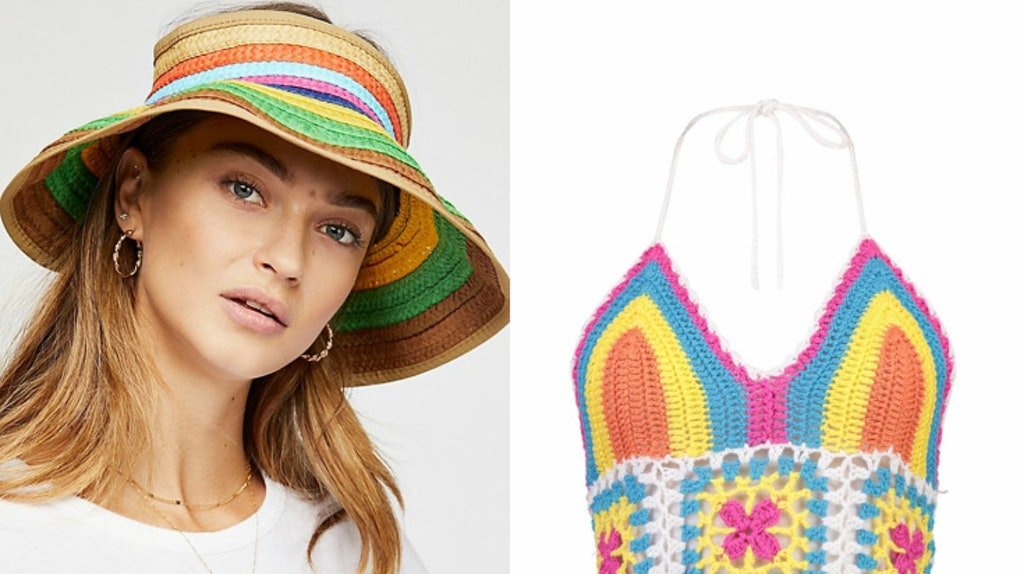 64410f98aee 2018 Trend Colors Include Rainbow, So My Little Pony Should Be Your Festival  Style Muse
