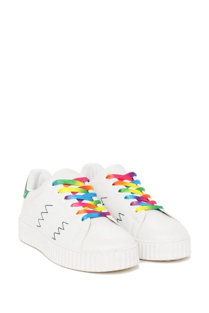 With Flyin' Colors Rainbow Sneaker