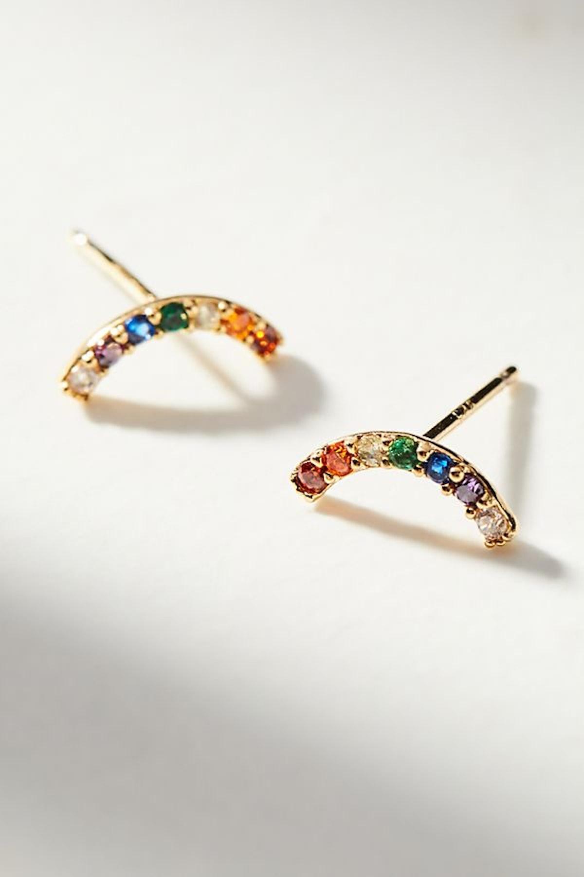 Rainbow Climber Earrings