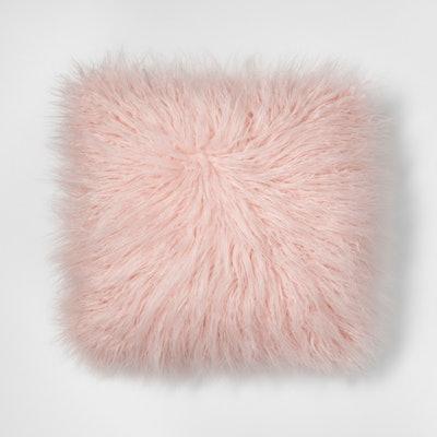 Project 62 Mongolian Faux Fur Throw Pillow