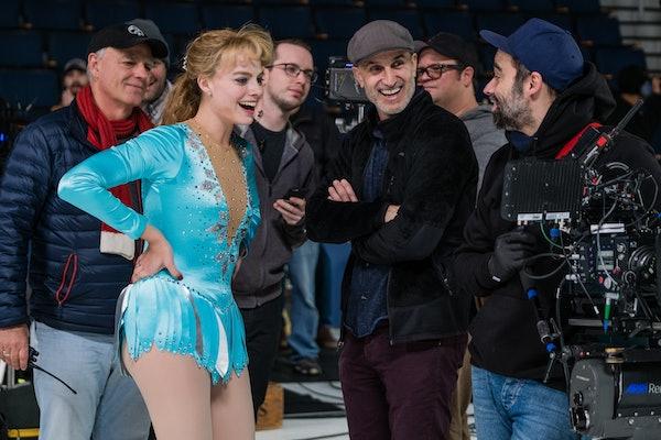 Margot Robbie skating in 'I, Tonya'
