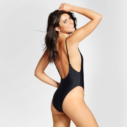 Women's High Leg Scoop One Piece