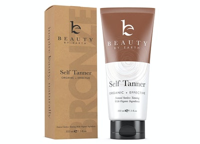 Beauty By Earth Self Tanner For Face And Body