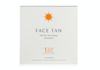 Tan Towel Face Tan Towelettes