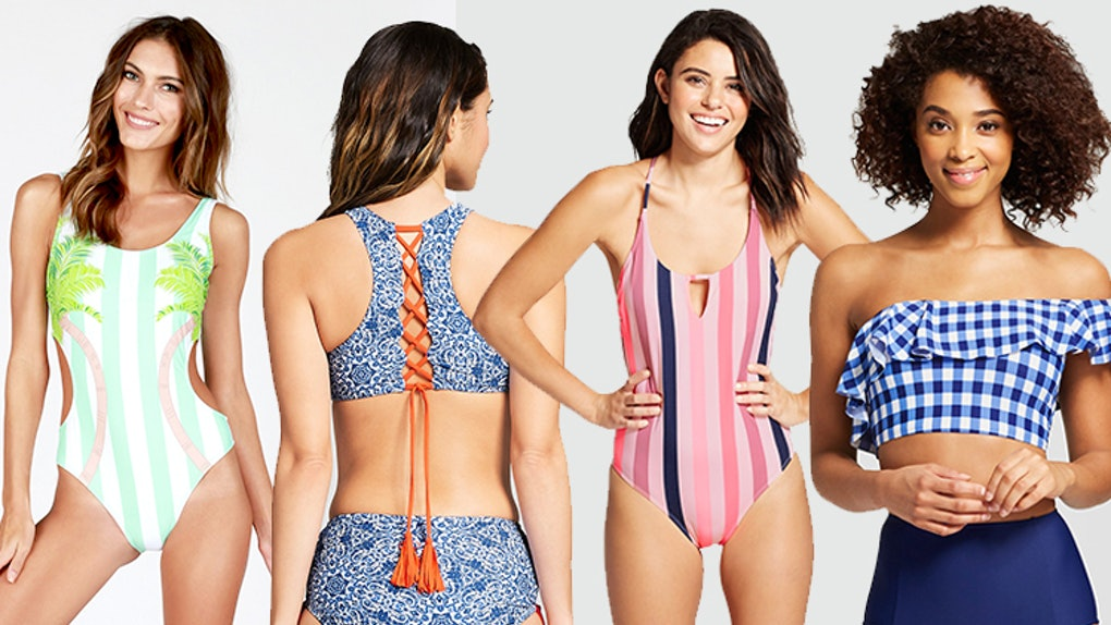 d9d45abe79 When Do Target's Bathing Suits Go On Sale? They're BOGO RN & I Can't Pull  My Wallet Out Quick Enough