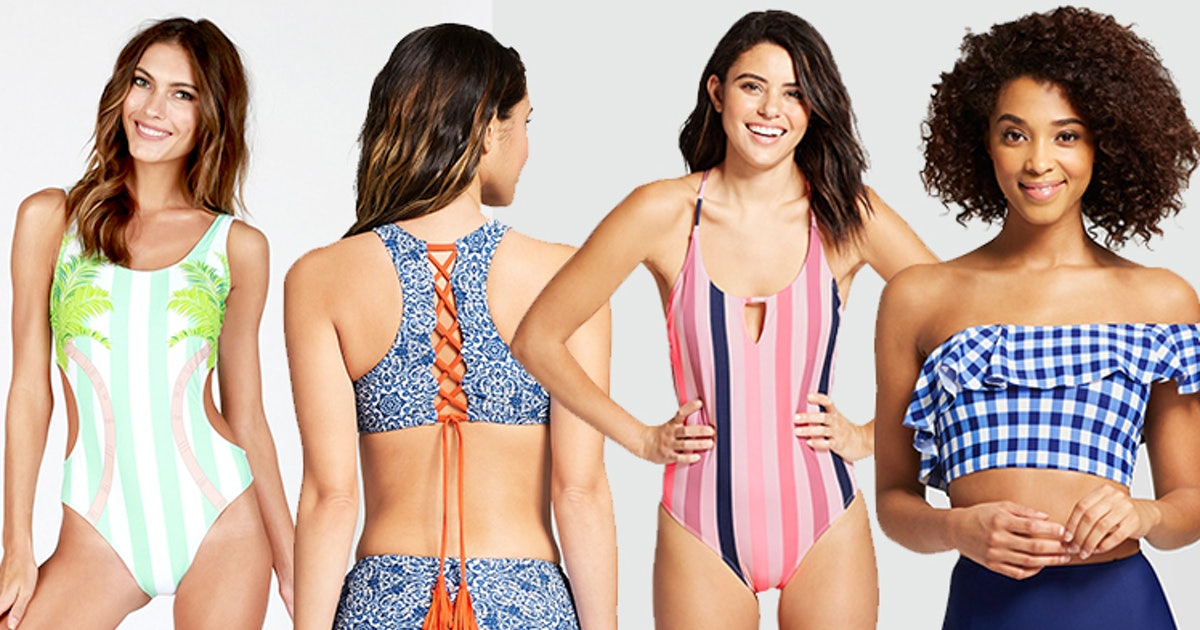 21367e09a5de7 When Do Target's Bathing Suits Go On Sale? They're BOGO RN & I Can't Pull  My Wallet Out Quick Enough