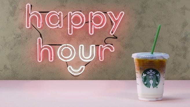 Starbucks happy hour july 2018