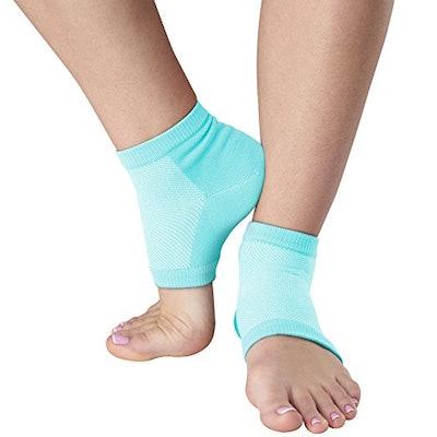 NatraCure Vented Gel Heel Sleeves