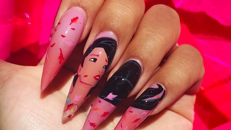 This Disney Princess Nail Art Is Going Viral On Instagram