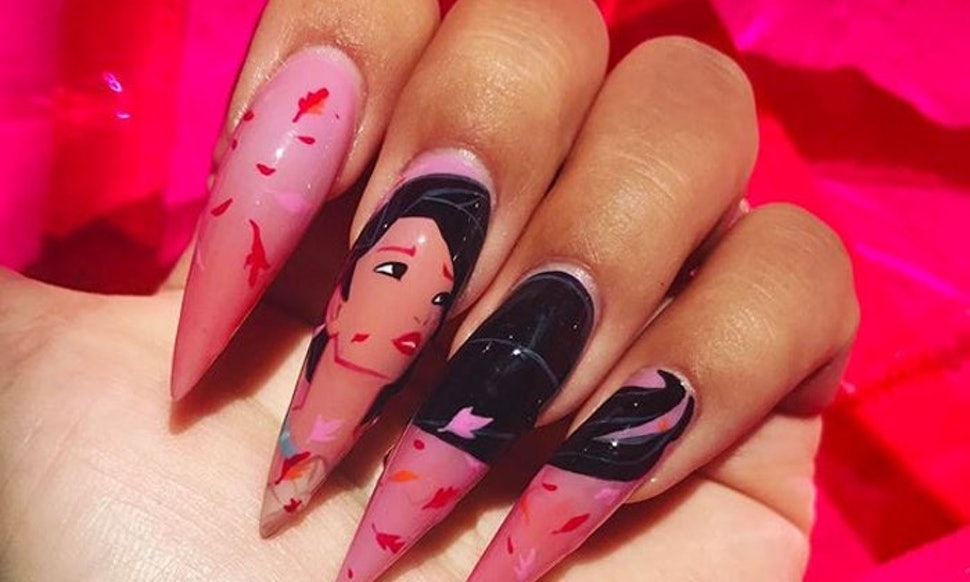 This Disney Princess Nail Art Is Going Viral On Instagram & It's So Magical - This Disney Princess Nail Art Is Going Viral On Instagram & It's So